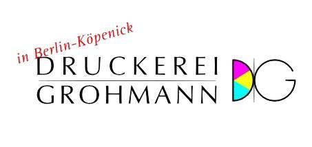 Druckerei Grohmann Gmbh Ihre Druckerei In Berlin Köpenick